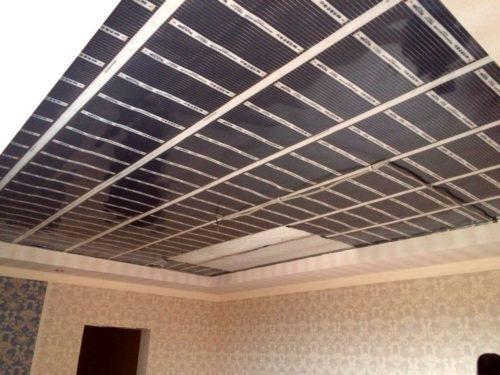Пленка инфракрасная для потолка. Характеристики пленочного инфракрасного отопления на потолок