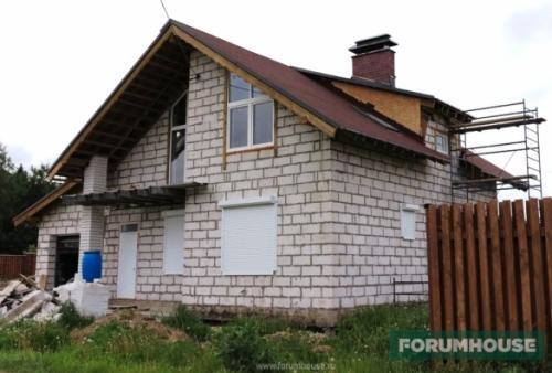 Вентилируемый фасад для дома из газобетона. Нюансы утепления дома из газобетона