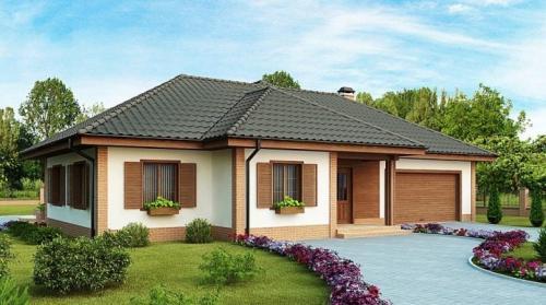 Как построить одноэтажный дом из пеноблока. Планировка и строительство одноэтажного дома из пеноблока