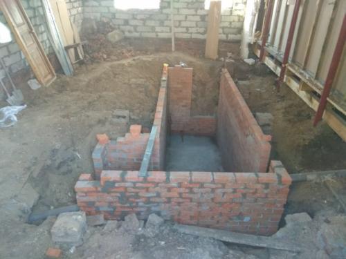 Строим подвал в доме своими руками. Погреб из кирпича в частном доме своими руками в построенном уже доме