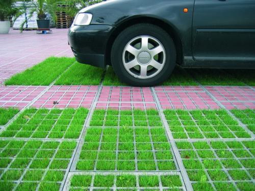 Газонная решетка для дорожек. Критерии выбора георешетки для парковки