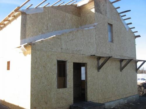 Как построить самому щитовой дом. Щитовое строительство: конструктивные особенности технологии