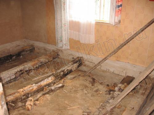 Перестелить пол на даче. Ремонт деревянного пола на даче