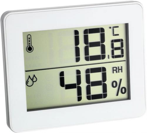Прибор определяющий влажность воздуха в помещении. Термогигрометр
