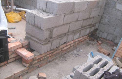 Кладка блока из керамзитобетона цена характеристика марок бетона