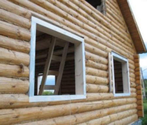 Установка пластикового окна своими руками в деревянном доме. Устанавливаем пластиковые окна в частном доме