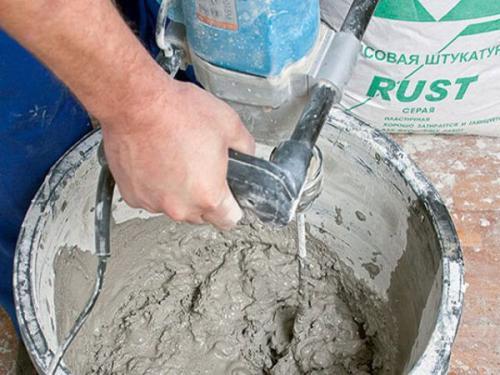 Как правильно сделать раствор для штукатурки стен. Какой должна быть штукатурка?