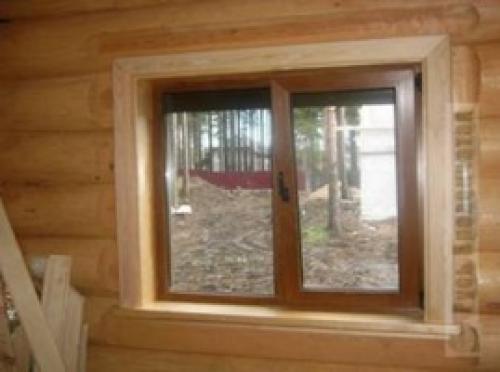 Установка окон ПВХ своими руками в деревянном доме. Устанавливами окно ПВХ в частный дом