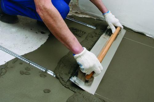 На что кладут линолеум на бетонный пол. Подготовка перекрытия для линолеума