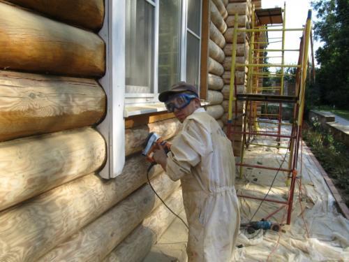 Ремонт старого деревянного дома своими руками. Как обновить сруб
