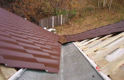 Крыша ендова. Ендова крыша схема