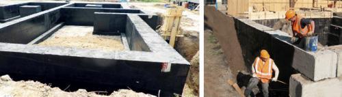 Битум для бетона. Битумная мастика для фундамента — пошаговая технология нанесения