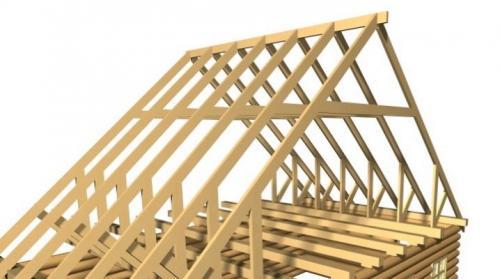 Двускатные крыши. Конструкция стропильной системы двускатной крыши