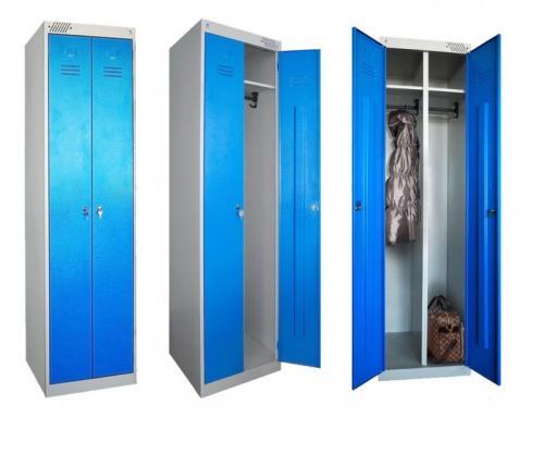 Шкафчики для раздевалок на производстве. Преимущества и недостатки