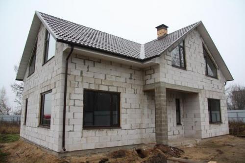 Стены дома из чего лучше строить. Бетонные блоки